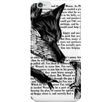 The Dark Wood 'Fox and Weasel' Illustration iPhone Case/Skin
