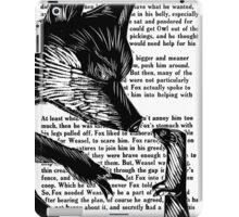 The Dark Wood 'Fox and Weasel' Illustration iPad Case/Skin