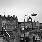 Edinburgh street view by BeckyNPhotog