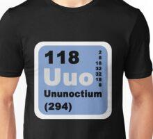 Periodic Table of Elements: No. 118 Ununoctium Unisex T-Shirt
