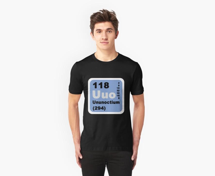 Periodic Table of Elements: No. 118 Ununoctium by walterericsy