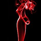 Smoke Signals ~ Lady in Red by Clare Scott