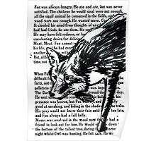 The Dark Wood 'Stalking Fox' Design Poster