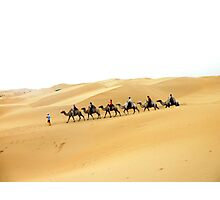 Golden Sand Photographic Print
