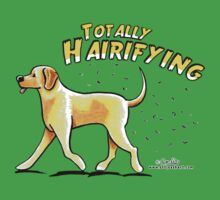 Yellow Lab :: Totally Hairifying Kids Clothes