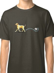 Yellow Lab Places to Go Classic T-Shirt