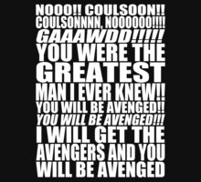 AVENGERS - COULSON, NOOOO by HECoulson