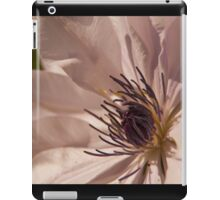 Clematis flower iPad Case/Skin
