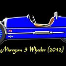 Morgan 3 Wheeler (2012) by Dennis Melling