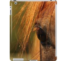 Horses eye close-up iPad Case/Skin