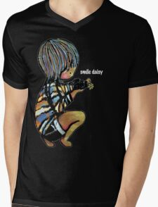 Smile Daisy Photographer Mens V-Neck T-Shirt