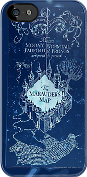 Marauder&#x27;s Map for Darks by HighDesign