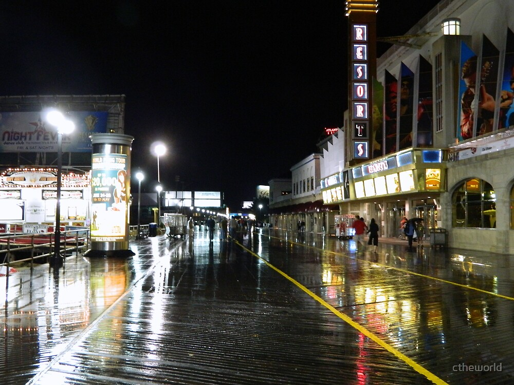 The Boardwalk-after a summer shower  ^ by ctheworld
