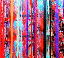 Falling Colors by Carolyn Repka