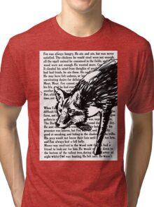 The Dark Wood 'Stalking Fox' Design Tri-blend T-Shirt