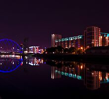 Clyde Arc, River Clyde, Glasgow by KieranHamilton