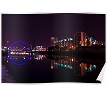 Clyde Arc, River Clyde, Glasgow Poster