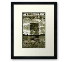 skydoor Framed Print