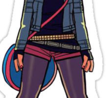Searching for my Ramona Flowers Sticker