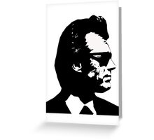 Clint Eastwood Dirty Harry Greeting Card