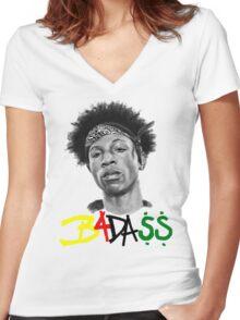 joey badass Women's Fitted V-Neck T-Shirt