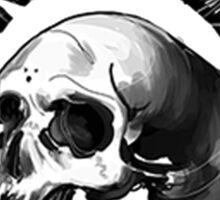 misfit skull Sticker
