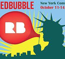 Redbubble Comic-Con Poster by MAngove
