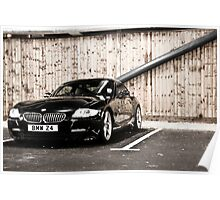 BMW Z4 coupe Poster