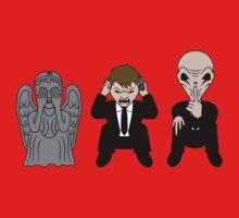 Three Wise Monsters Kids Tee