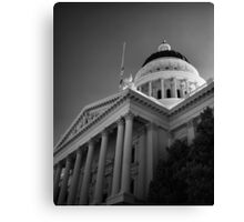 State Capital Building, Sacramento California Canvas Print