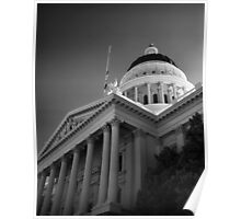 State Capital Building, Sacramento California Poster
