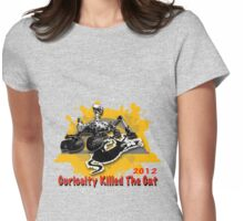 Curiosity Killed The Cat (New edition) Womens Fitted T-Shirt