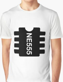 NE 555 IC Graphic T-Shirt