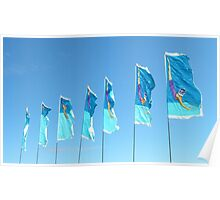 Jubilee Flags Poster