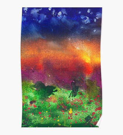 Abstract - Crayon - Utopia Poster