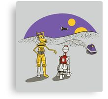 Not the Droids You're Looking For Canvas Print