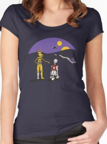 Not the Droids You're Looking For Women's Fitted Scoop T-Shirt