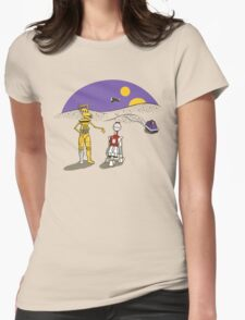 Not the Droids You're Looking For Womens Fitted T-Shirt