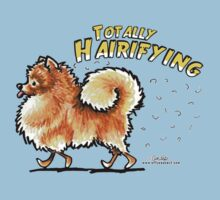 Pomeranian :: Totally Hairifying Kids Clothes