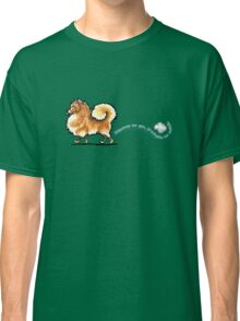 Pomeranian Places to Go Classic T-Shirt