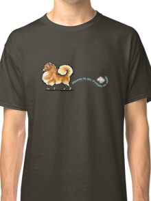 Pomeranian Places to Go Classic T-Shirt