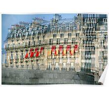 Parisian Mosaic - Piece 29 - French Building Facade  Poster