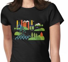 Beach City  Womens Fitted T-Shirt
