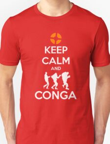 Keep Calm and CONGA Unisex T-Shirt
