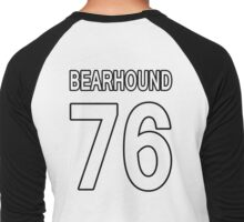 Jersey Black Men's Baseball ¾ T-Shirt