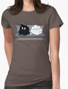 Wanda Happy Cloud and Ivan 02 Womens Fitted T-Shirt
