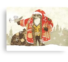 Steampunk Santa Canvas Print