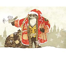 Steampunk Santa Photographic Print