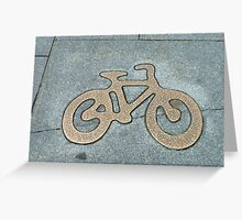 Ride your bike Greeting Card