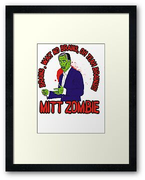 "MITT ZOMBIE ""Romney"" by BUB THE ZOMBIE"